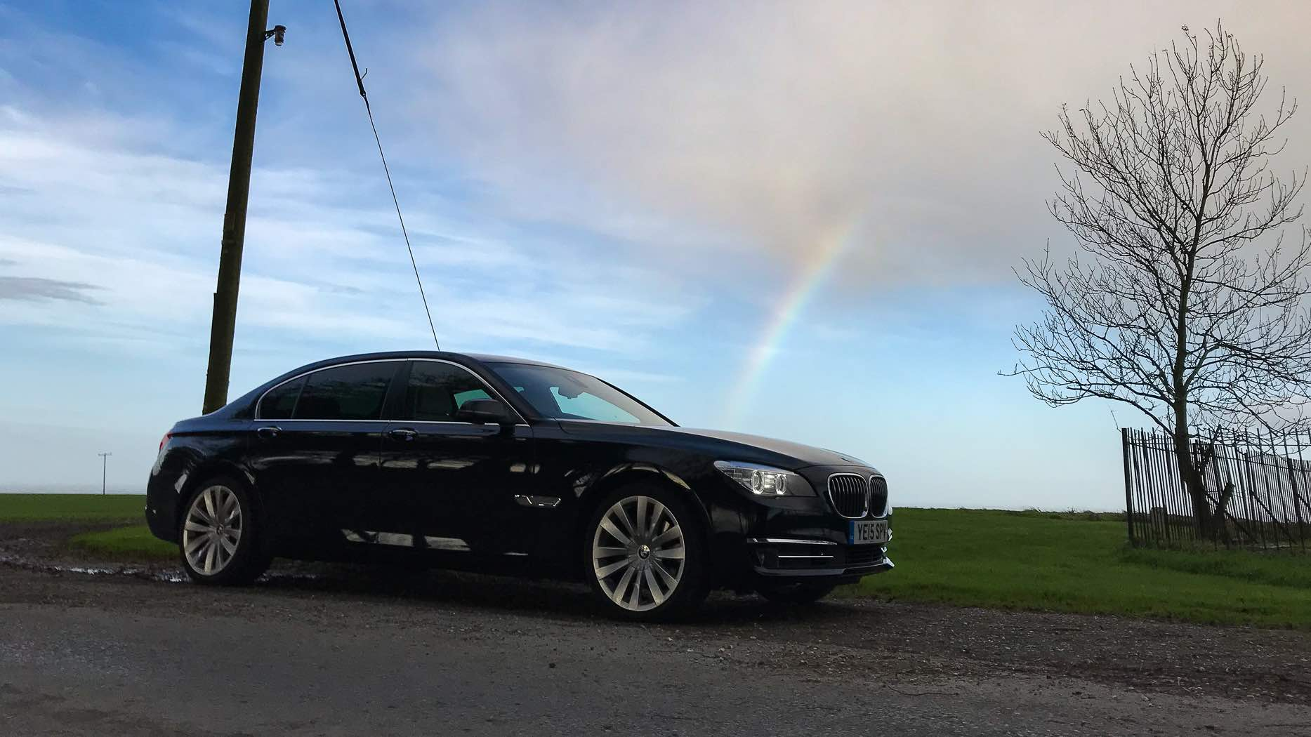 BMW with Rainbow
